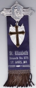 st peter claver badge