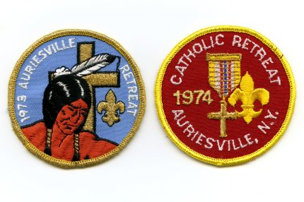 Auriesville Retreat Patches